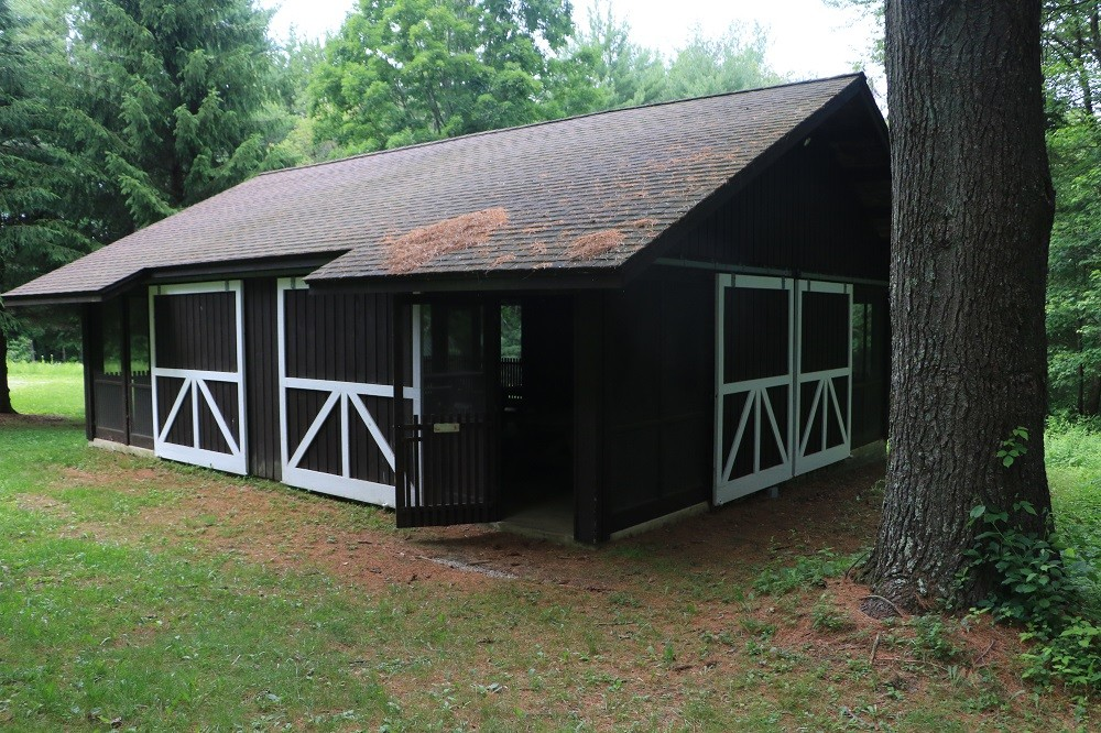 Meeting Barn exterior