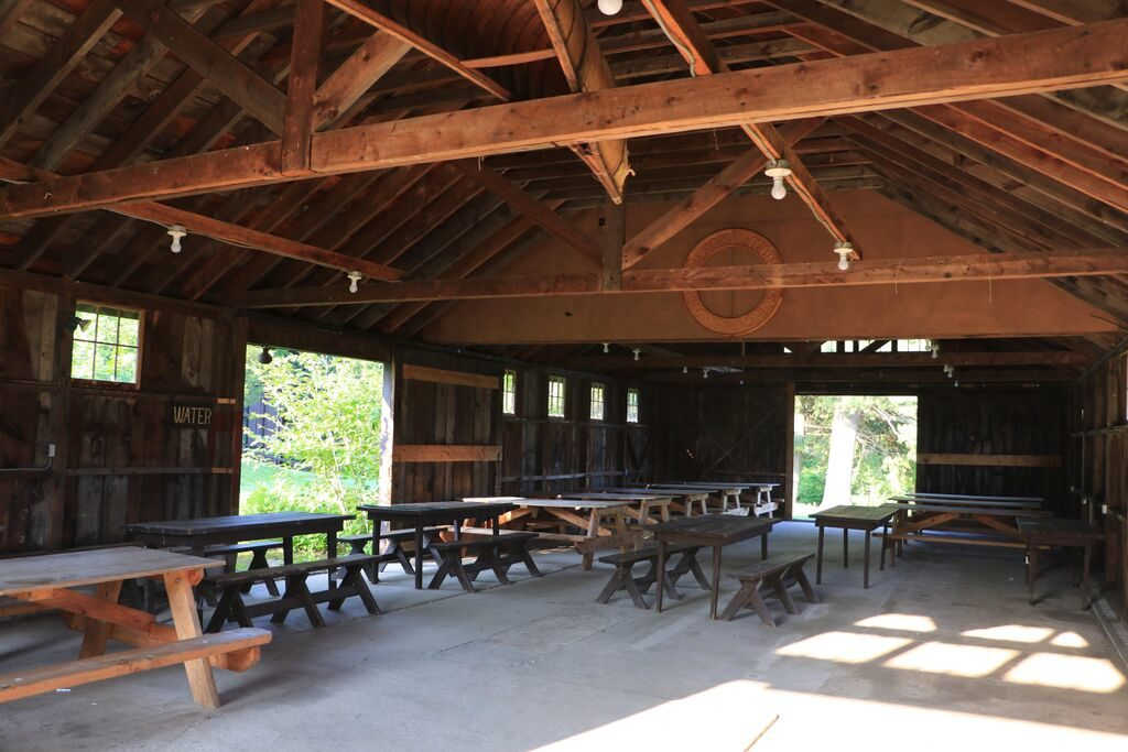 activity shed interior