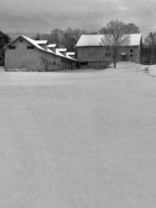 Winter White ~ The Beauty of White Memorial in Wintertime