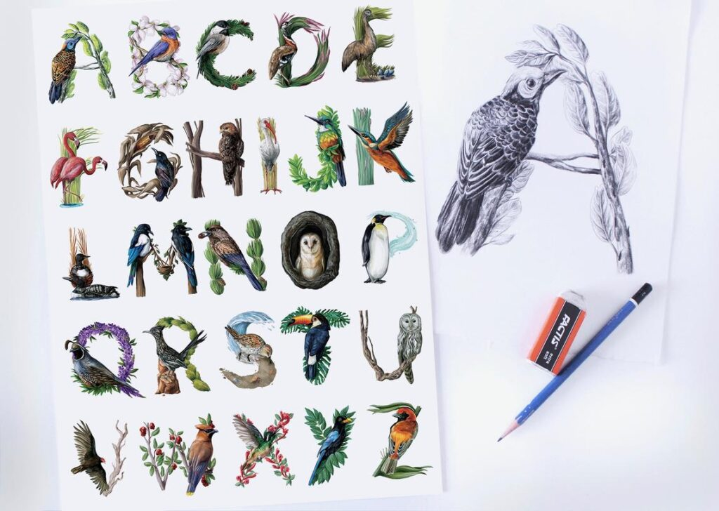 Alphabet poster 2