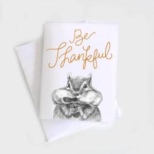 Amanda Surveski ~ Be Thankful Card