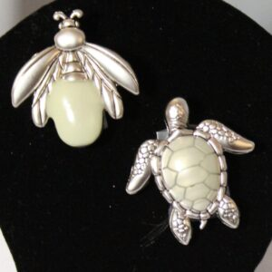 Glow-in-the-Dark Firefly or Sea Turtle Pocket Charms