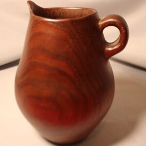Hand Turned Walnut Pitcher by Richard Heys