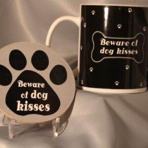 Dog Lover's Coffee Mug and Coaster Set
