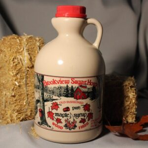 Brookview Sugar House MOUTHWATERING Maple Syrup ~ One Quart