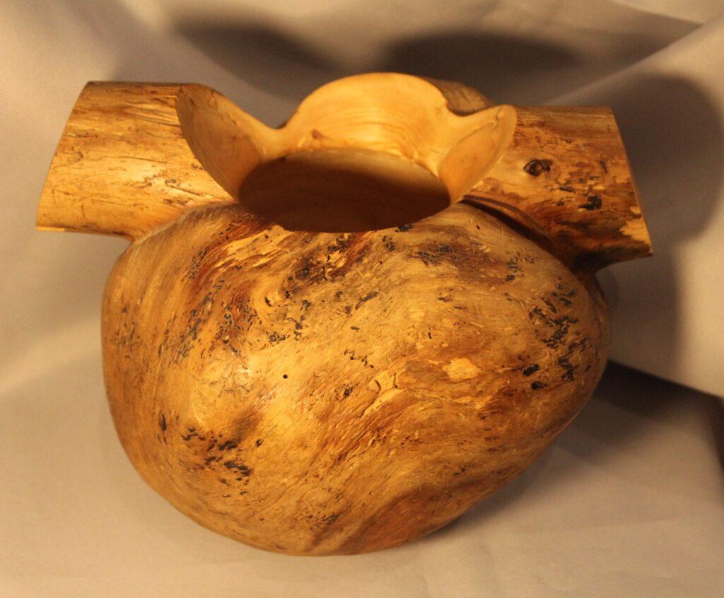 spruce burl bowl